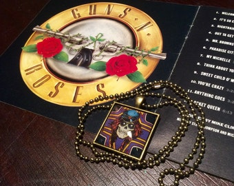 SALE: Guns N Roses Axl Necklace