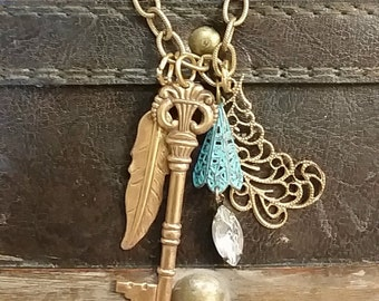 Hope Takes Flight Necklace