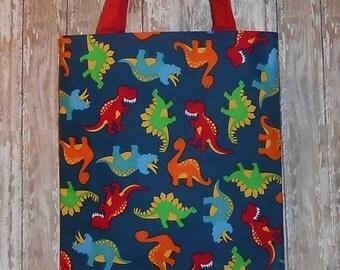 Kid's Tote Bag- Dinosaurs