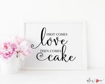 Printable Cake Sign. Cake Printable. Cake Sign. Printable Wedding Cake Sign. Wedding Cake Printable. Wedding Cake Sign. Cake Table Sign.