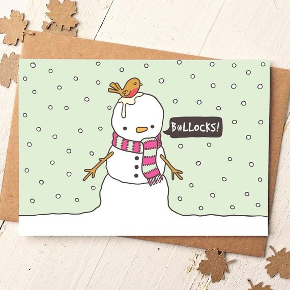 Funny Holiday Card - Funny Christmas Card - Funny Cards - Holiday Greeting Cards - Friend Card - Holiday Cards - Naughty Cards - Xmas Cards