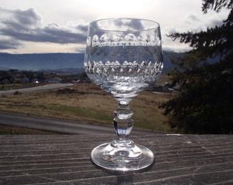 "Crystal Goblet, 2-5/8"" diameter x 5"" tall"