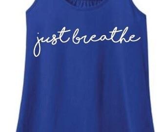 Just Breathe Womens Tank