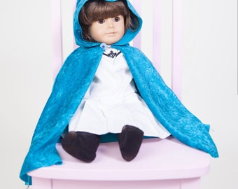 """Doll Cape / Doll Cloak For 18"""" Doll"""