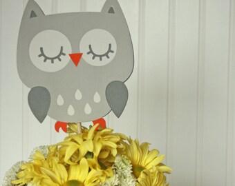 Woodland Party Decorations - Woodland Centerpieces - Woodland Animal Shower - Woodland Party - Grey