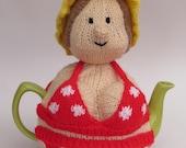 Bikini Beach Babe Tea Cosy Knitting Pattern