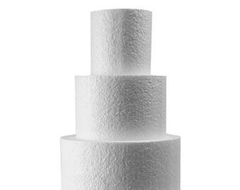 """Dummy Cake Polystyrene 6"""",8"""",10""""x4"""""""