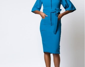 Lady Biba Monaco Turquoise