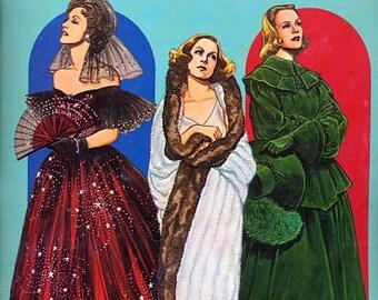 1985 Tom Tierney Greta Garbo Paper Dolls