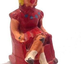 1930s (B627) Barclay 627 Girl in Rocking Chair