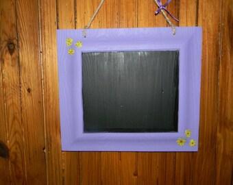 Hanging Chalk Board - Purple