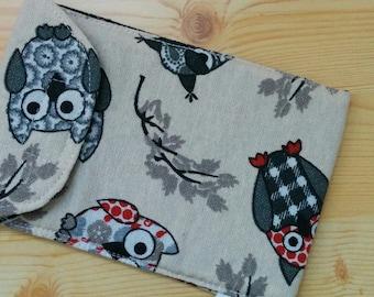 Owls mobile case,mobile case,smartphone case,quilted case,smartphone cover, mobile sleeve, mobile cover, iPhone case, iPhone cover