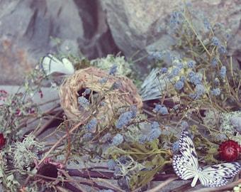 custom centerpiece wreath, dried flower centerpiece, woodland wedding centerpiece, sunflower centerpiece, rustic wreath, dried flower wreath