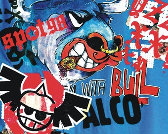 Bull fitted T-shirt 9207