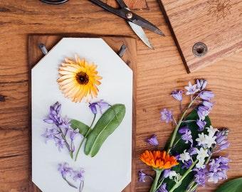 DIY trends: pressed flowers