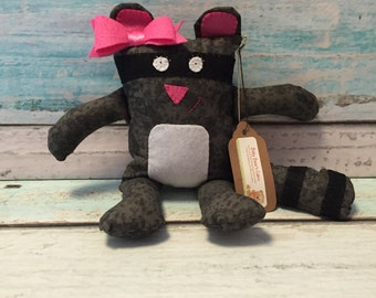 SALE -- Rosie the Raccoon Plush Toy