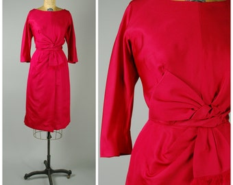 Rubis Dress • 1950s Wiggle Dress