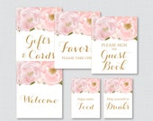 Printable Pink and Gold F...