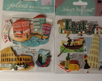 Jolee's Boutique Italy Sticker Lot