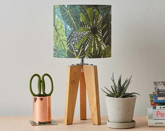 Botanical Plants Lampshade