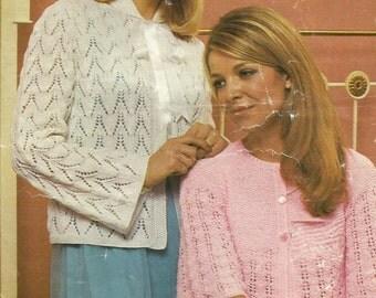 Instant Download - PDF-Lovely Ladies Bed Coatt Knitting Pattern (K26)