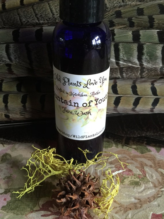 Fountain of youth Orgainc Oil Face wash
