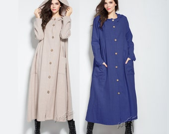 Linen coat | Etsy