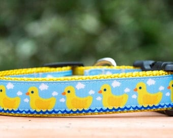 Dog Collar / Ducklings Dog Collar / Dog Collar Australia (M-XL Dogs)