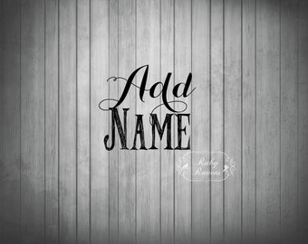 Add name to banner, Print Shop Service