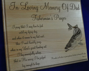 In Loving Memory ~  Memorial Gift ~ Sympathy Gifts ~ Engraved Memorial ~ Engraved Sympathy Gift ~ Funeral Gift ~ In Memory Of ~ Loss Of Dad
