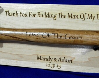 Father In Law Gift Gift For Bride\'s Dad Engraved