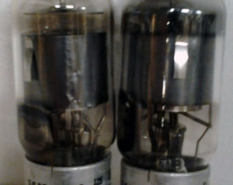 Pair of Vintage Cetron 7363 Tubes