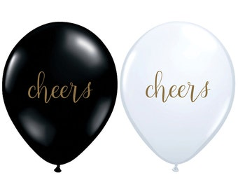 "11"" Metallic Gold Heart Balloons // 3 Pack // Birthday and Wedding Balloons // Paper and Party Supplies"