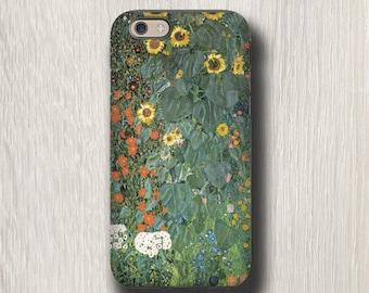 Gustav Klimt Sunflower iphone 7 case iPhone 6s case iPhone 4s case Samsung Galaxy S6 Edge Plus Samsung Galaxy S7 Galaxy Note 4 case floral