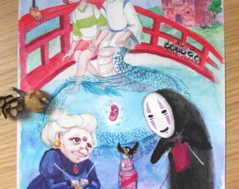 Spirited Away - prints