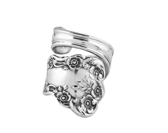 Spoon Ring, Sterling Spoon Ring, Silver ring, Silver Spoon Jewelry, Handmade ring, Spoon jewelry, Antique ring
