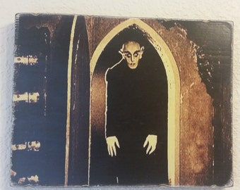 Nosferatu Wood Art