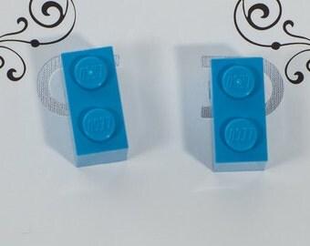 Toy Brick Earring stud 2 brink plate