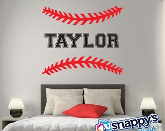 Baseball Wall Decal | Etsy