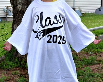 Personalized School Shirts - Back To School Shirt - First Day Of School Shirt - Kindergarten Shirt - Class Of 2030 Shirt - Graduation Shirt