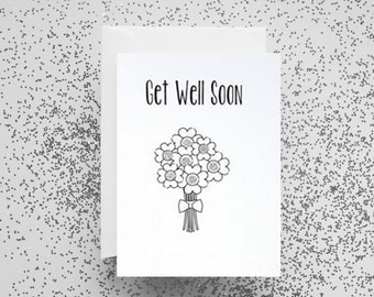 Card, Greetings Card, Get Well Soon, Get Well Soon Card, Get Well Card,