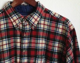Plaid flannel shirt | Etsy