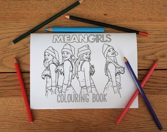 Mean Girls Colouring Book