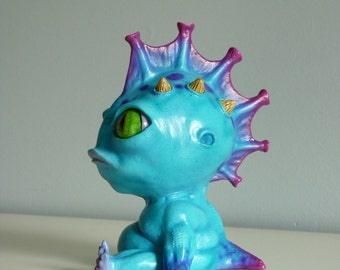 Sea alien monster creature anime, manga, sci fi, fantasy figurine art, sculpture