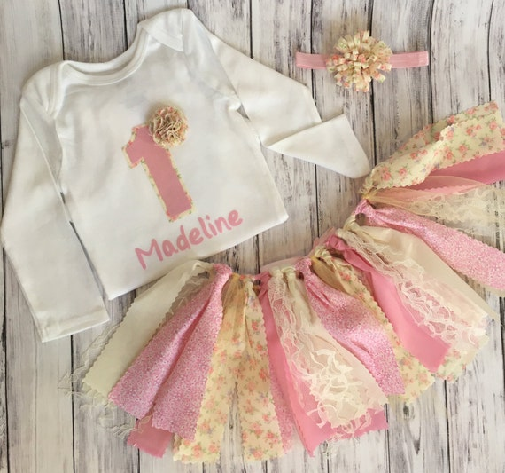 Customized shabby chic birthday outfit by mksbowtique on etsy - Shabby chic outfit ideas ...