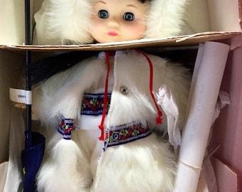 Royal doll company growing up in the USA Alaska circa 1960