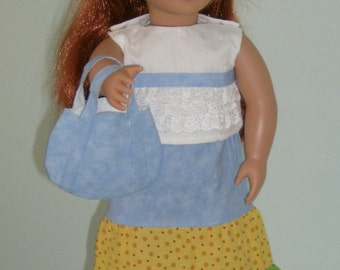 Free Shipping !!!  7 piece 18 inch doll oufit will fit American Girl and Our Generation Dolls