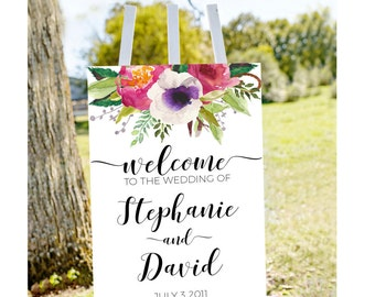 Printable Wedding welcome sign, welcome to our wedding, welcome sign, welcome sign, printable welcome sign, gold wedding sign, wedding signs