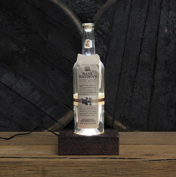 Basil Hayden Bourbon LED Light Present For Guys, Bourbon Gift, Valentine's Gift For Men, Guy Gift, Valentines Present For Him, Man Cave