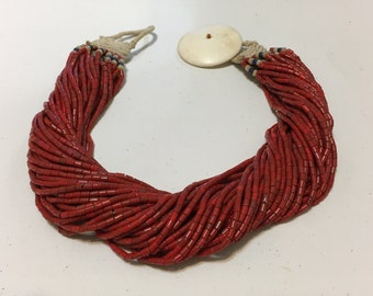 Naga Konyak Beaded  Necklace